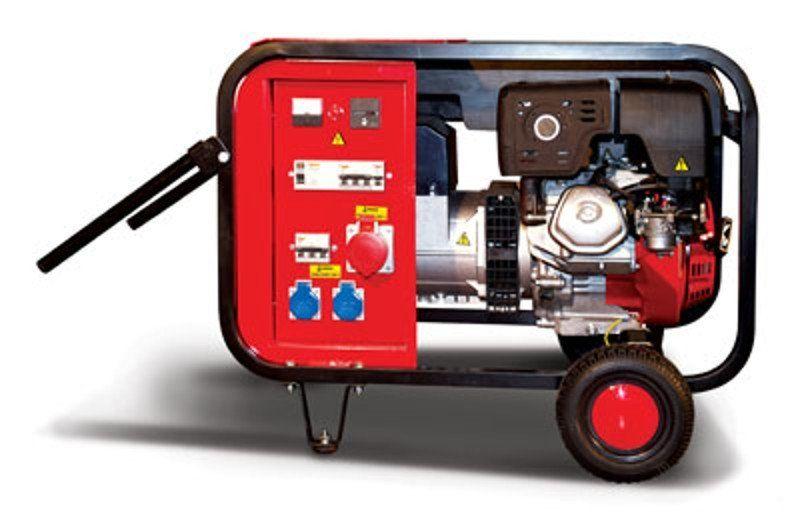GR8TFH - Třífázová Elektrocentrála Gesan + 1. servis a doprava v ceně, GR 8 TF H. Dříve G8/10TFH.