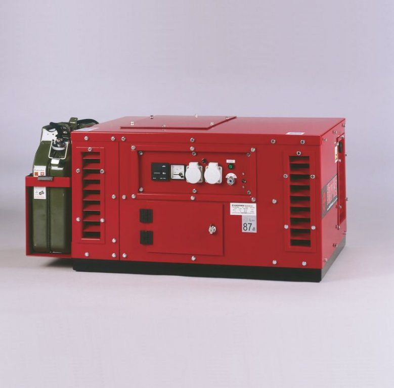 EPS6000E - ATS - Jednofázové elektrocentrála Europower s ATS a kapotáží + 1. servis a doprava v ceně