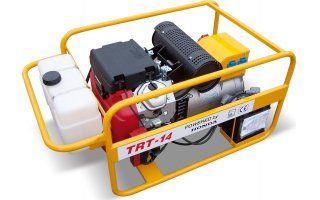 TRT-14+ 1.servis a doprava v ceně. Třífázová elektrocentrála NTC