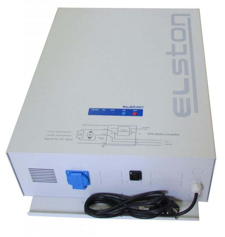 Elston 350 S DUO Exclusive - Záložní, náhradní zdroj Astip. Pro čerpadla kotlů.