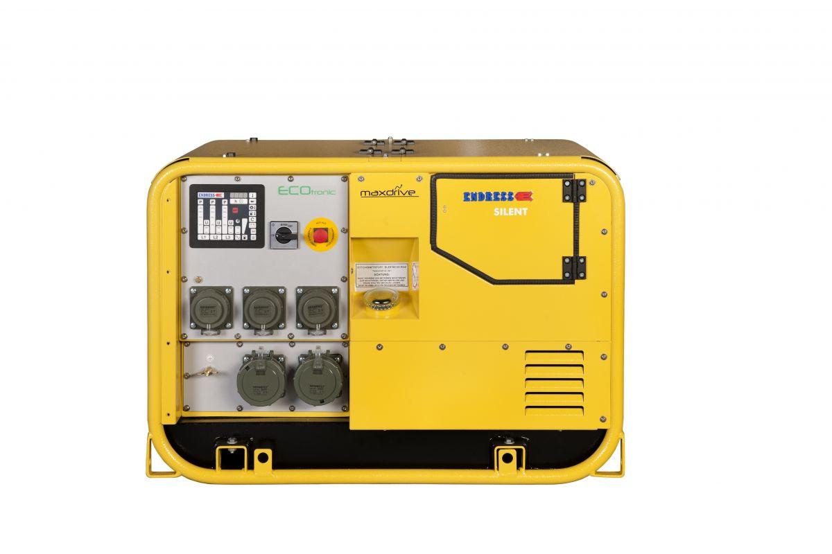 ESE 607 DBG DIN - elektrocentrála pro hasiče ENDRESS, krytí IP54