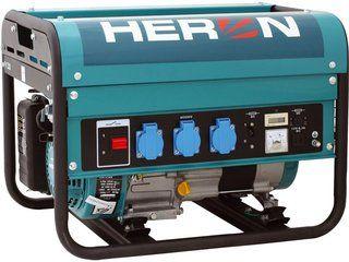 LPGG 50 - elektrocentrála benzínová plynová jednofázová HERON