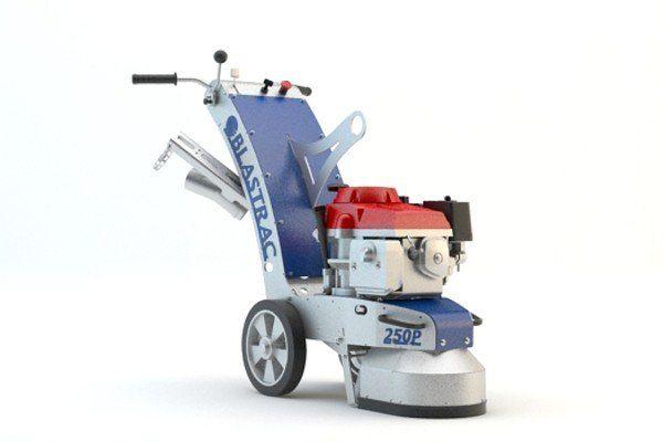 BGP-250 - Profesionální jednokotoučová bruska 230V/400V na broušení betonu
