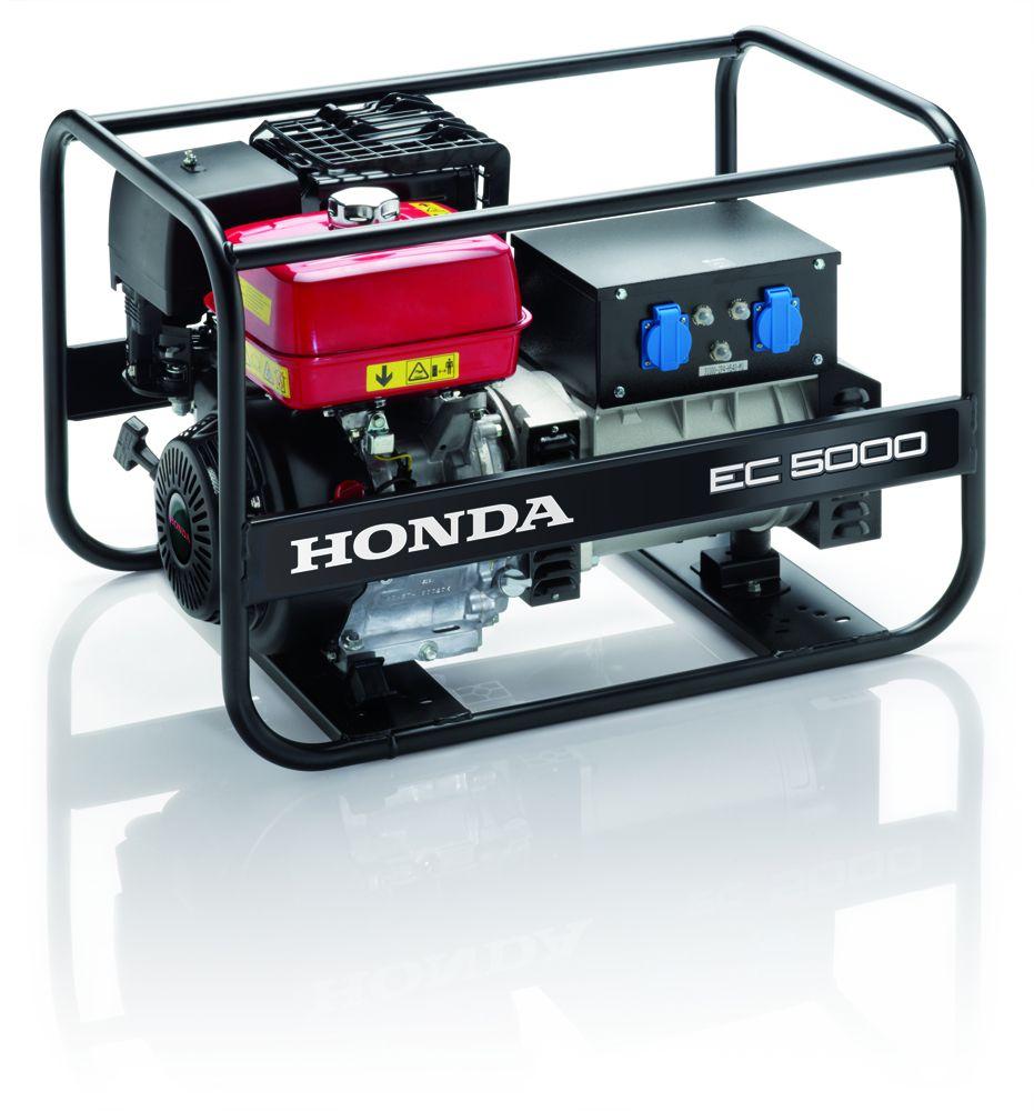 EC 5000 - Jednofázová elektrocentrála Honda, 1. servis a doprava v ceně