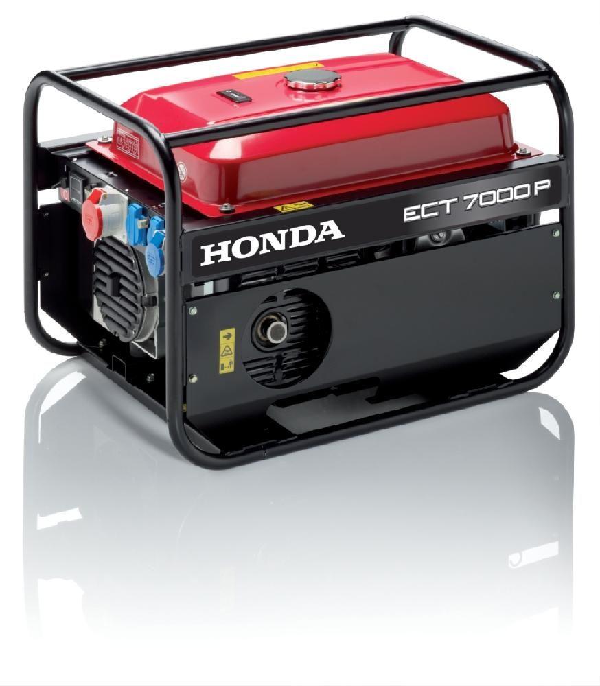 ECMT 7000 - Třífázová elektrocentrála Honda s regulací AVR, 1. servis a doprava v ceně