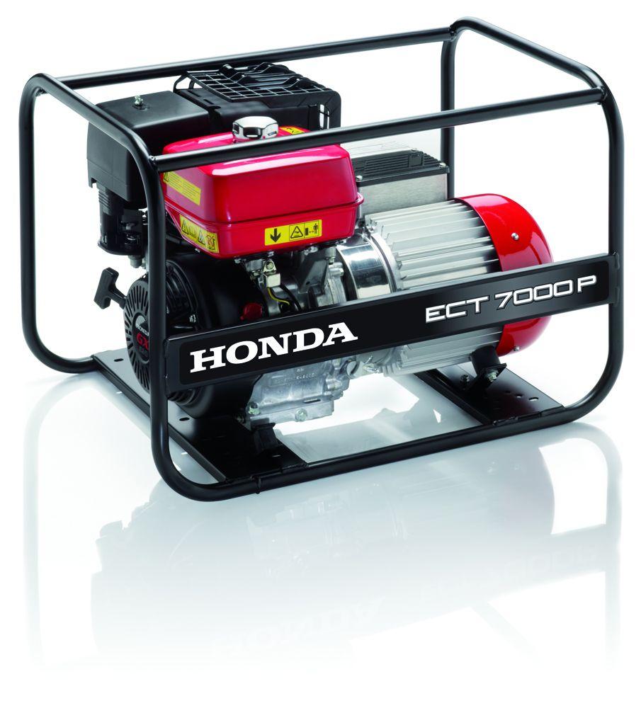 ECT 7000 P - Elektrocentrála Honda třífázová s regulací AVR, 1. servis a doprava v ceně