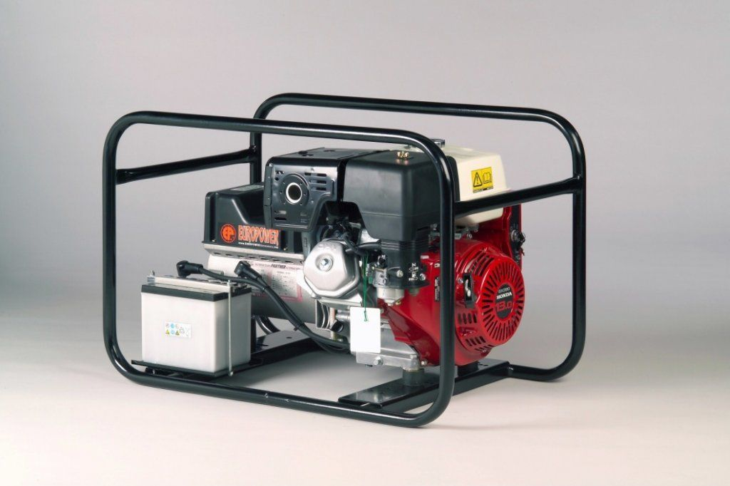 EP4100E-PDM1 - Jednofázová elektrocentrála Europower, elektrostart