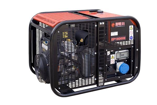 EP16000TE + 1. servis a doprava v ceně. Třífázová elektrocentrála Europower.