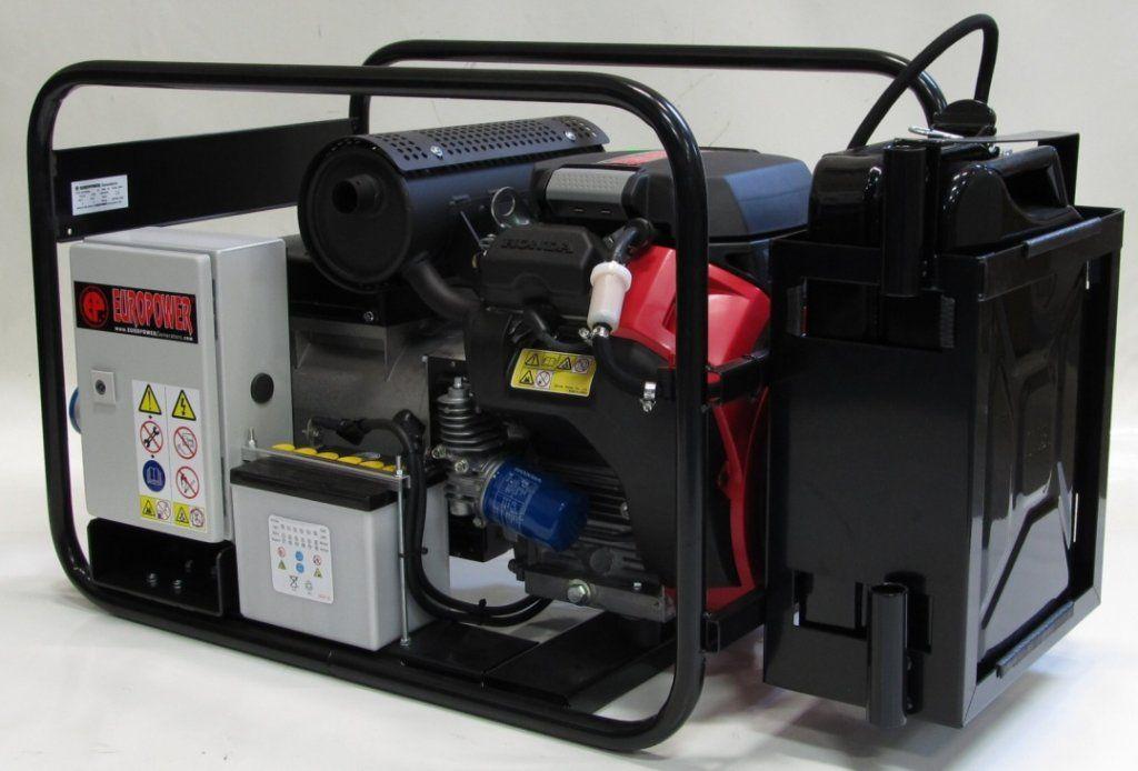 EPS10000E - Tichá třífázová elektrocentrála Europower