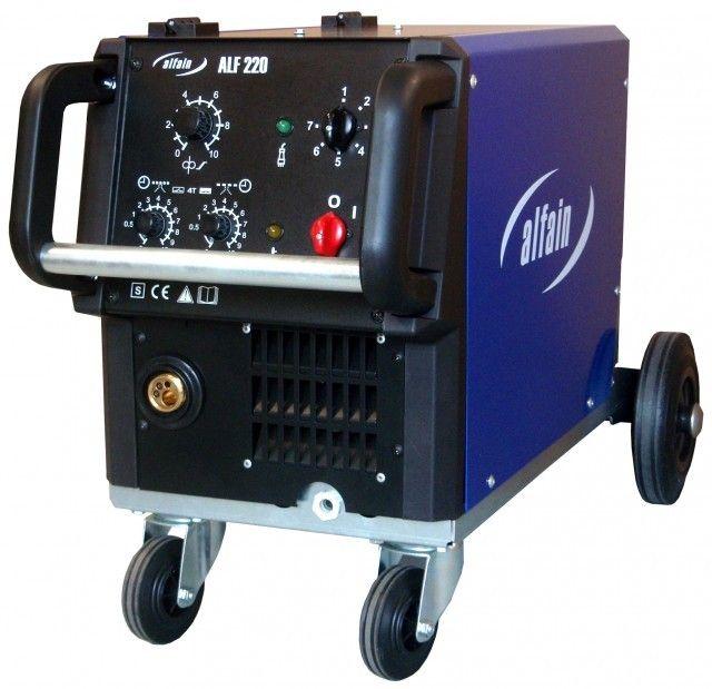 Akce na ALF 181 AXE- třífázová svářečka MIG/MAG + hořák 4 m + kukla + red. ventil