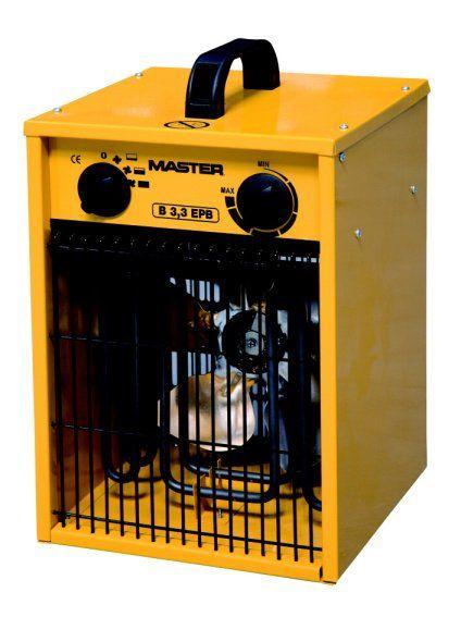 B3,3EPB - Elektrické topidlo Master s ventilátorem