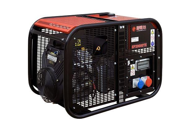 EP20000TE s AVR + 1. servis a doprava v ceně. Třífázová elektrocentrála Europower
