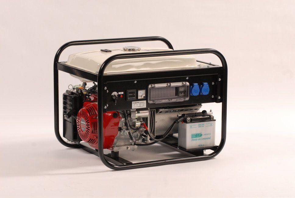 EP6000E/25 + 1. servis a doprava v ceně. Jednofázová elektrocentrála Europower.