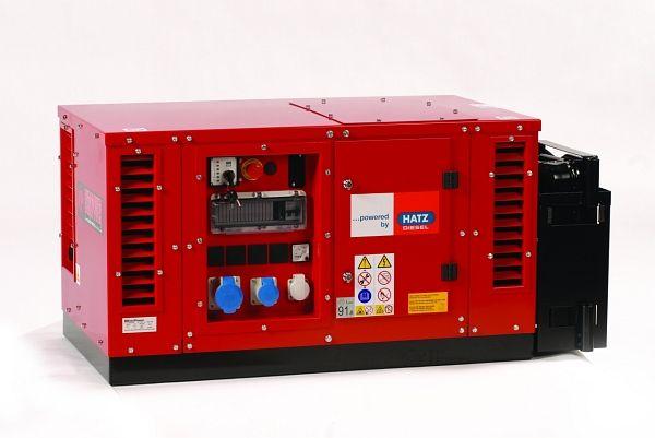 EPS2500 DE Tichá naftová jednofázová elektrocentrála Europower