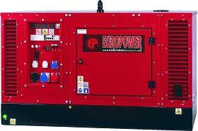EPS9TDE - Naftová třífázová elektrocentrála Europower