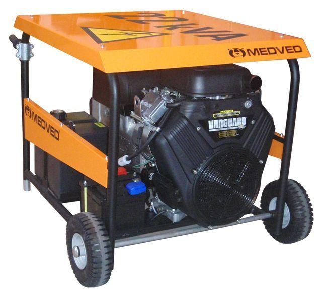 GR-24000 V + 1.servis a doprava v ceně. Třífázová elektrocentrála Medved Grizzli