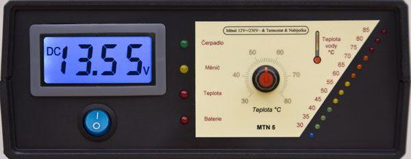 MTN5 - Záložní, náhradní zdroj pro čerpadla kotlů.