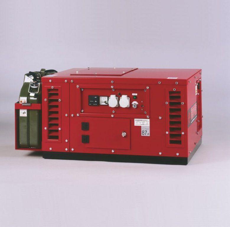 EPS10000E - ATS + 1. servis a doprava v ceně. Tichá jednofázová elektrocentrála Europower v kapotáži.