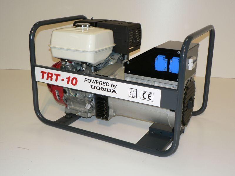 TRT-10 + 1.servis a doprava v ceně. Třífázová elektrocentrála NTC