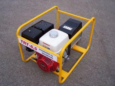 TRT-6,5 AVR + 1.servis a doprava v ceně. Třífázová elektrocentrála NTC