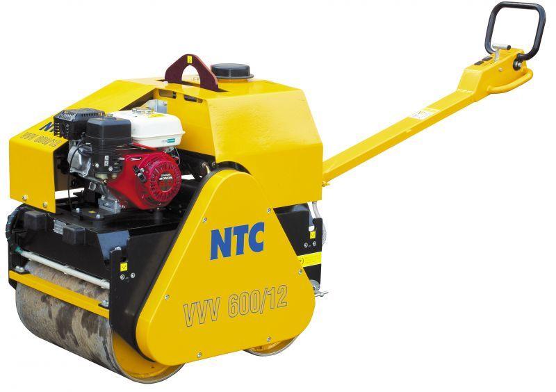 VVV600/12 - NTC vibrační válec vedený