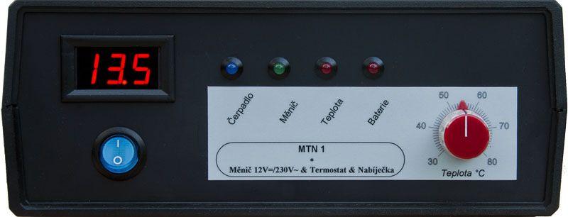 MTN1, MTN 1 - Záložní, náhradní zdroj pro čerpadlo kotle