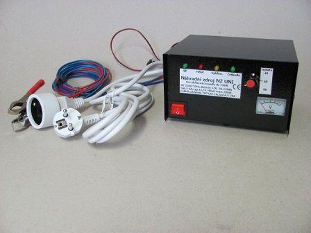 NZ UNI - 2 x termostat pro dvě čerpadla, Záložní, náhradní zdroj UPS pro oběhová čerpadla, náhrada za NZ200 a NZ300, ptáček.