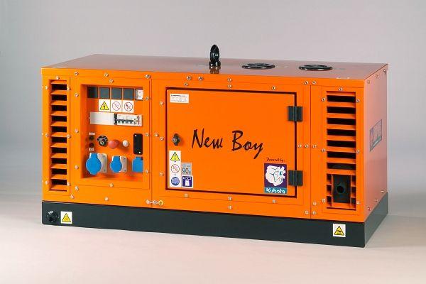 EPS113TDE - Naftová třífázová elektrocentrála Europower New Boy
