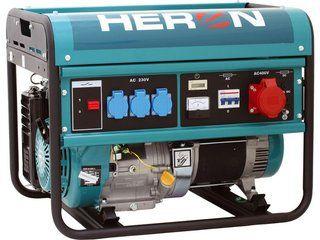 EGM 68 AVR-1E - elektrocentrála benzínová třífázová HERONová 1,1 kW, HERON