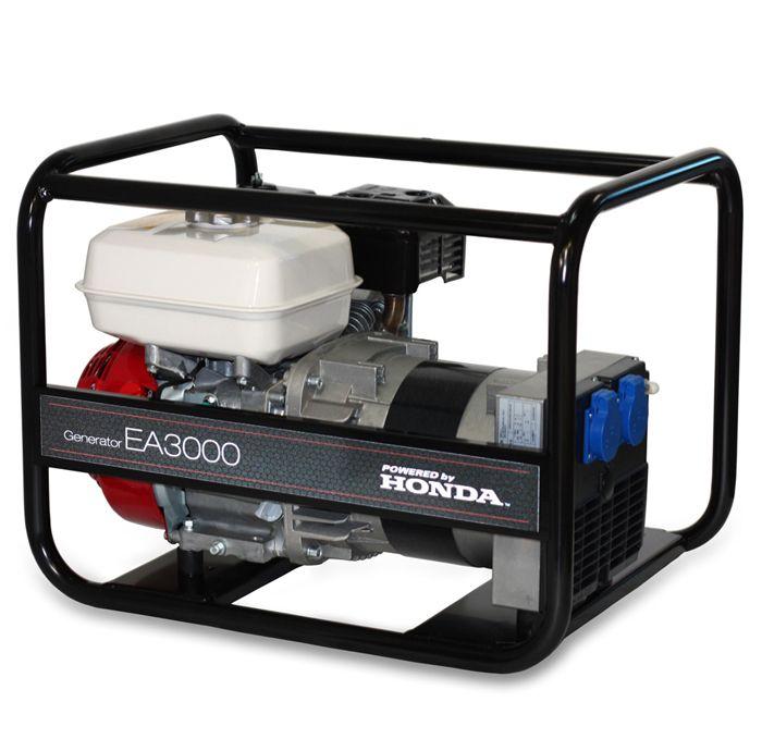 EA 6000 AVR - jednofázová elektrocentrála Honda