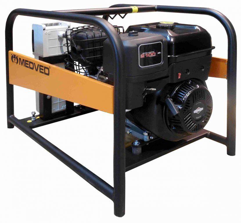 Arctos 9000 H AVR - Profesionální jednofázová elektrocentrála Medved