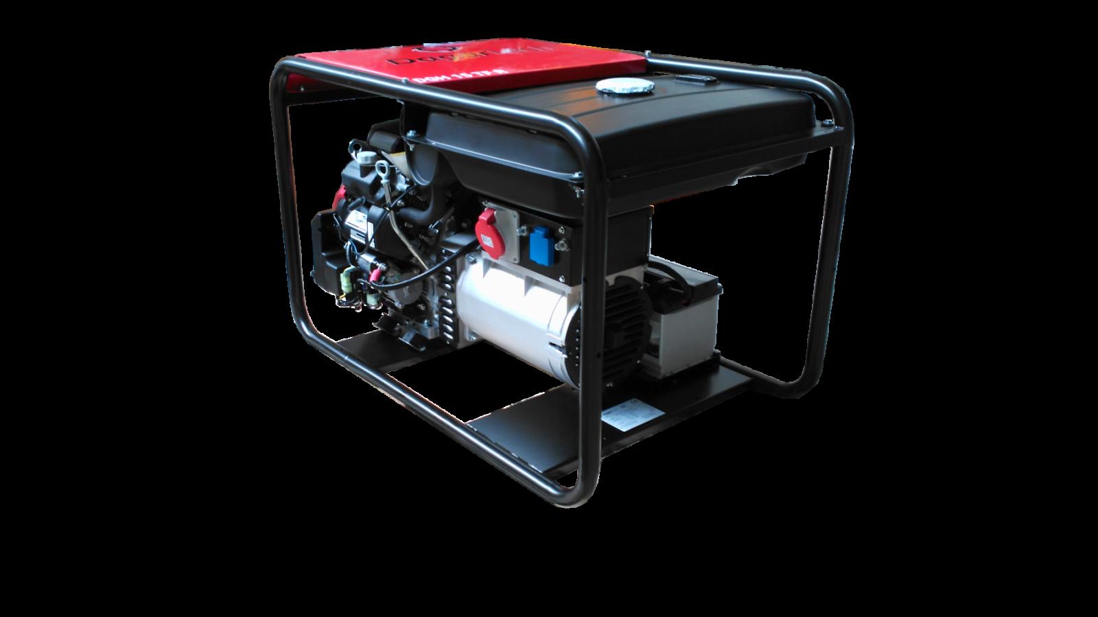 DGH12TFR - Profesionální třífázová elektrocentrála s výkonem 12,5 kVA