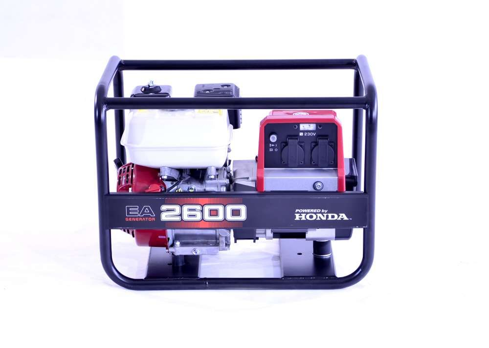 EA 2600 - elektrocentrála Honda v rámu