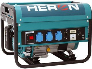 EGM 25 AVR - elektrocentrála benzínová jednofázová HERONová 1,1 kW, HERON