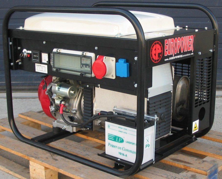 EP6500TE/25-PDM1 - třífázová elektrocentrála Europower